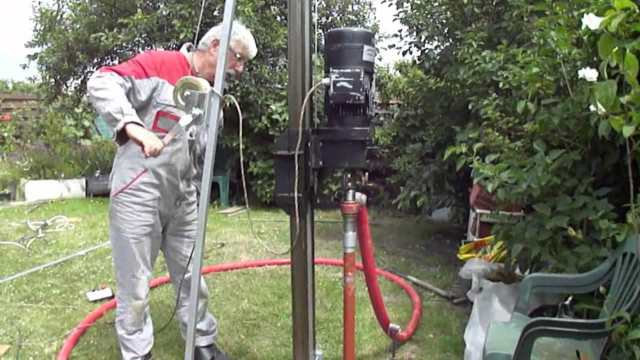 pompe forage jardin