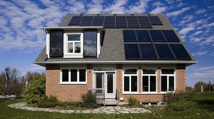 L'énergie solaire pour alimenter les maisons en électricité