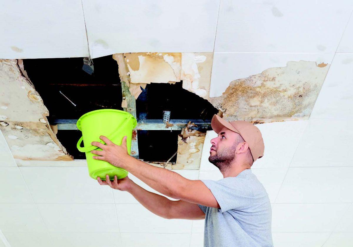 détecter une fuite d'eau dans un immeuble