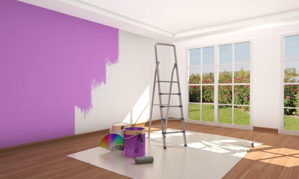 Les bases de la peinture de maison
